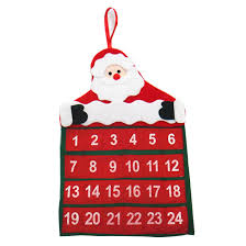 new year merry santa claus calendar advent