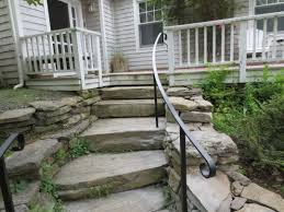 premade stairs outdoors home design ideas and pictures
