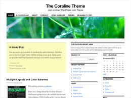 coraline u2014 free wordpress themes