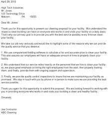 cover letter for bid