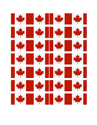 Canada Flag Colors Free Printable Canada Cupcake Flags Spring U0026 Summer Holidays