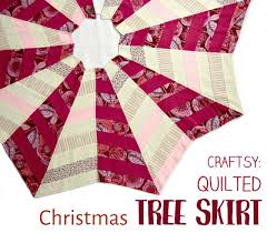 quilted christmas the quilted christmas tree skirt applegreen cottage