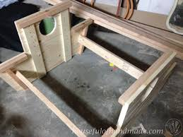 Plans For A Wood Picnic Table by How To Build A Nautical Picnic Table For Bigger Kids A Houseful