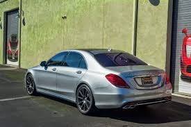 mercedes c 65 amg 2015 mercedes s65 amg pimped up with silvery finish