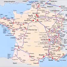 Germany Rail Map by Maps Of France U2013 Bonjourlafrance