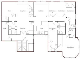 floor plan for house easy floor plan maker lovely floor plans draw
