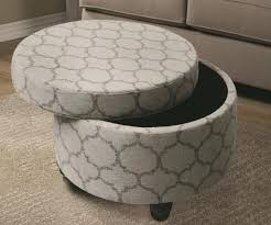 Ottoman With Tray Storage Ottoman With Tray Ottomans Tufted