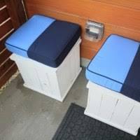 our suprising diy outdoor front porch storage solution