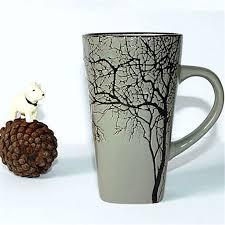 Tree Mug 1pcs Fashion 450ml The Castle Style Creative Ceramic Mug Cup