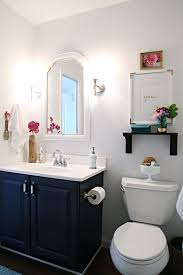 navy vanity remodelaholic best colors for your home navy blue