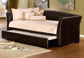 Sofa With Trundle Bed Amazon Com Daybed With Trundle In Brown Kitchen U0026 Dining