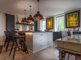 hand painted bespoke kitchen berkshire hand painted kitchens