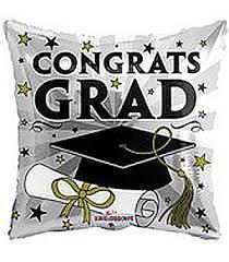 congrats grad graduation balloon u2013 the cupcake delivers