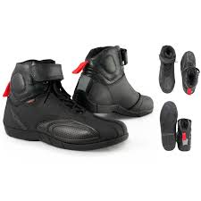 motorcycle boots and shoes motorcycle boots sports motorbike shoes sport leather black a pro ebay