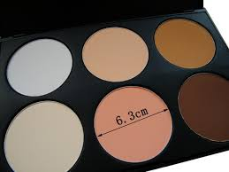 china cheap cosmetics face foundation powder 6 colors mineral
