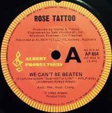 rock n roll outlaw remedy rose tattoo 7 inch single