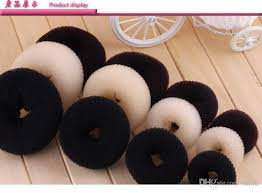bun scrunchie online cheap hair volumizing scrunchie donut ring style bun