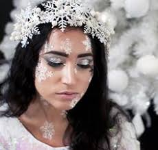 Ice Queen Halloween Costume Ideas Snow Queen Lashes Karla Powell Link Http