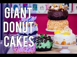 cake how to how to make six different donut cakes drizzled with