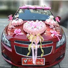 Wedding Car Decorations Luxury Car Flower Design Decoration Kit Wedding Car Decoration