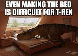 T Rex Bed Meme - shit tyrone get it together meme by roo memedroid