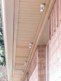 eaves led lighting project