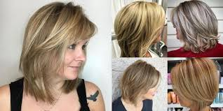 ombre style for older woman blonde balayage and ombre hairstyles for older women over 50