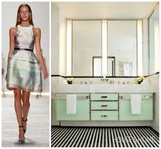 inspiring couture fashion paired with luxury bathrooms
