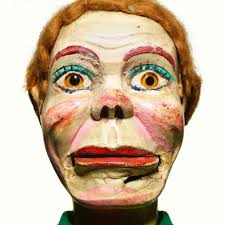 ventriloquist doll halloween costume creepy portraits of ventriloquist dummies from a master