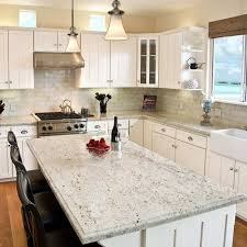 green kitchen cabinets with white countertops 5 granite colors that go perfectly with white cabinetry