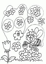 spring coloring pages for kids big collection of spring