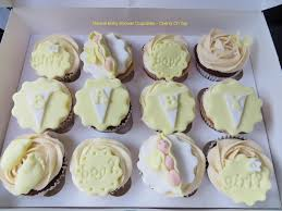 baby shower cupcakes neutral 41100dc07a1041440352be111b7e15be