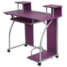 bureau pour chambre bureau enfant table de travail meuble mobilier chambre violet