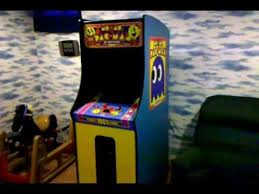 Ms Pacman Cabinet Mr U0026 Mrs Pac Man 30th Anniversary Arcade Cabinet Youtube