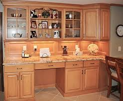 kitchen desk and hutch omega dynasty cabinets jamie thibeault
