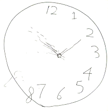 draw the hands on the clock printable math flash cards addition