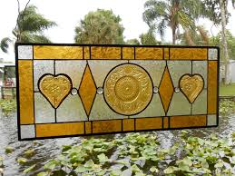 Vintage Transom Windows Inspiration Buy Custom Stained Glass Transom Window Sandwich Glass Stained