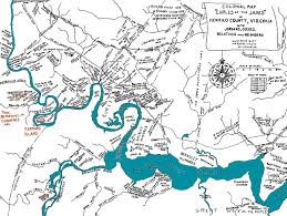 Map Of The 13 Colonies James River 13 Colonies Special Offers