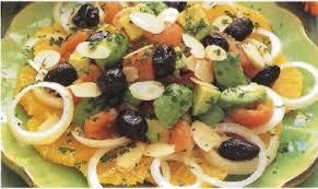 cuisine espagnole recette salade de tomates avocat et oranges recettes de cuisine espagnole