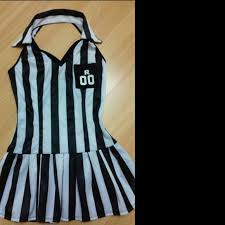 Ref Costumes Halloween 61 Black Label Dresses U0026 Skirts Referee Costume