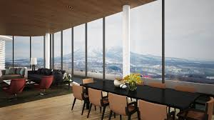 Small Penthouses Design Skye Niseko Penthouse North Niseko Realty Real Estate Services