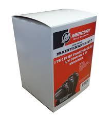 amazon com oem mercury 100 hr maintenance kit 75 115hp