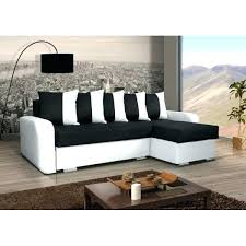 canap d angle convertible noir canape d angle blanc et noir canapac dangle noir et blanc marabella