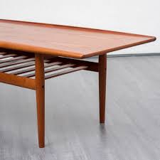 1960s coffee table by grete jalk for glostrup made in denmark