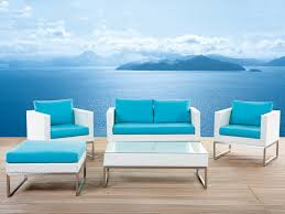 Turquoise Patio Furniture by Stainless Steel Garden Furniture Neruda