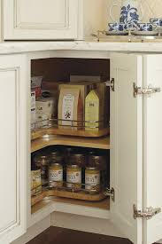 Lazy Susans For Cabinets by Thomasville Organization Base Lazy Susan With Chrome Rails