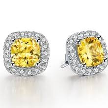 aliexpress buy 2ct brilliant simulate diamond men diamond shaped earrings for men online shopping the world largest