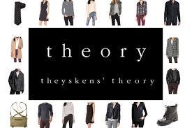 theory clothing theory theyskens theory clothing new york sle sale