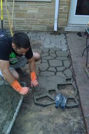 Diy Patio With Pavers Paver Patio Diy My Home