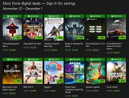 black friday pc games xbox one black friday 2014 digital game discounts revealed
